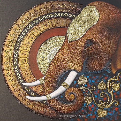 mandala elephant painting famous elephant painting elephant painting for sale elephant canvas painting elephant abstract painting