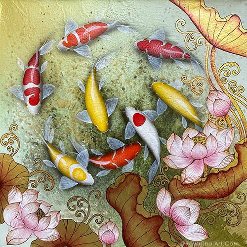 koi japanese painting koi fish painting feng shui koi fish painting for sale koi fish painting acrylic koi fish painting famous