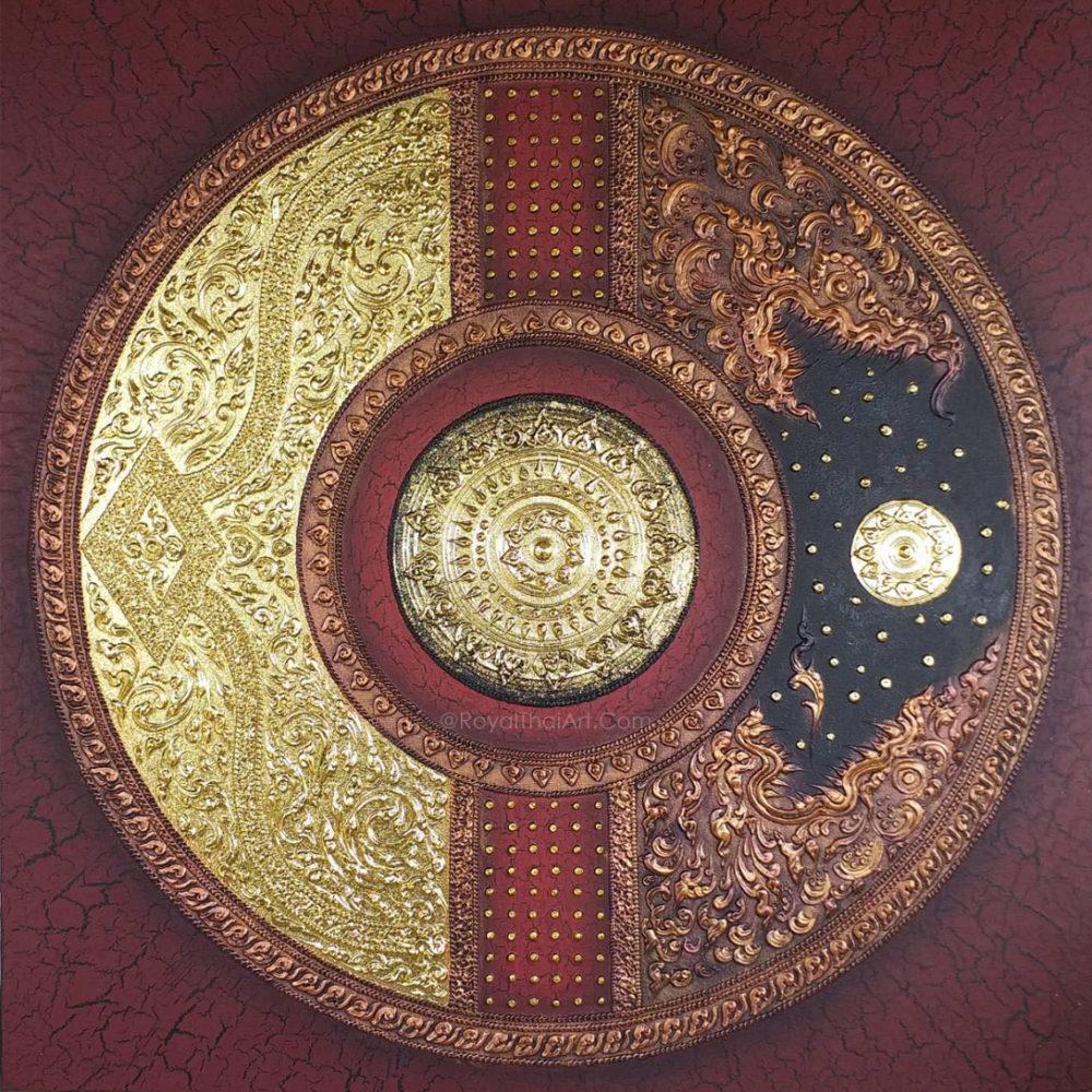 asian mandala painting mandala art painting mandala canvas wall art acrylic mandala painting mandala art for sale