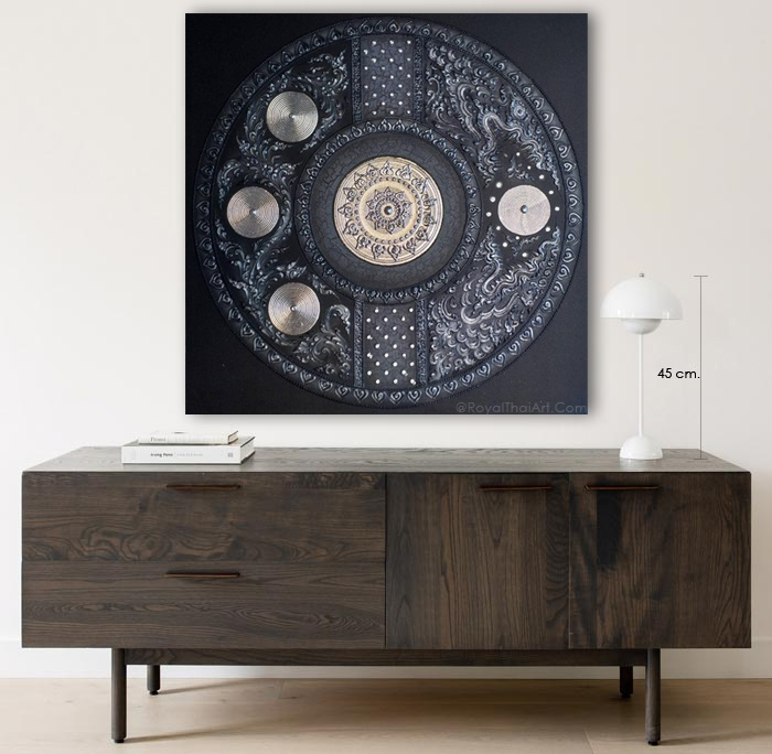 mandala fine art home decor