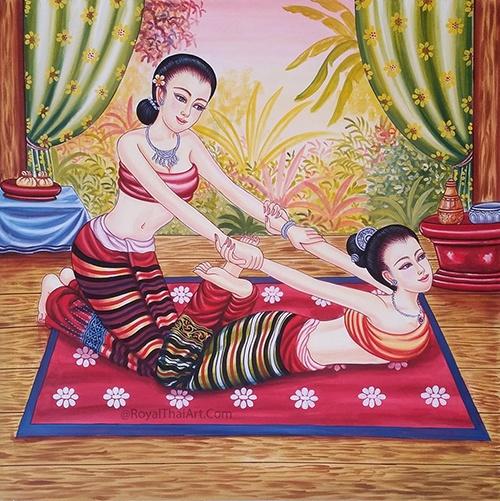 thai massage art thailand massage painting thai yoga massage thailand art famous traditional thai art paintings