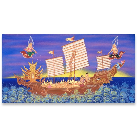 junk boat painting chinese junk boat oil paintings chinese junk painting