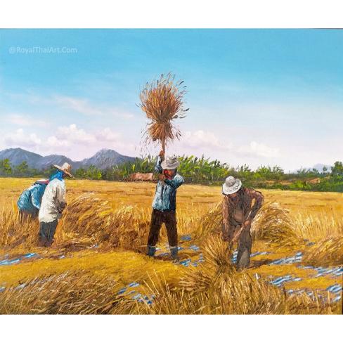 rice field painting rice field art paddy field painting rice paddy painting Paddy field drawing Paddy field painting feng shui Paddy field pictures Paddy field scenery