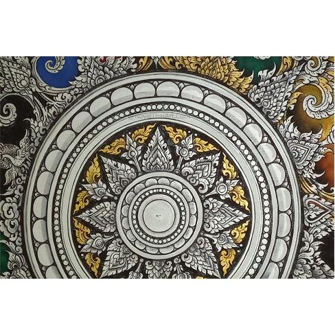 traditional thai pattern art traditional thai art thailand popular artwork thailand paintings online thai painting for sale royal thai art