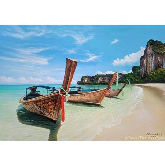 island painting island paintings on canvas famous isaland painting island artwork thailand paintings for sale abstract ocean best artist in thailand