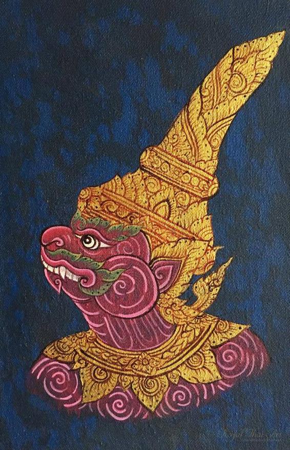 Thai yak Thotsakan Thai giant Ramayana Ramakien Thailand