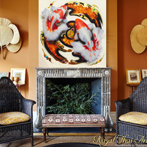 Superior Buy Koi Fish Painting Koi Fish Painting Feng Shui Koi Fish Painting Acrylic Koi  Fish Paintings